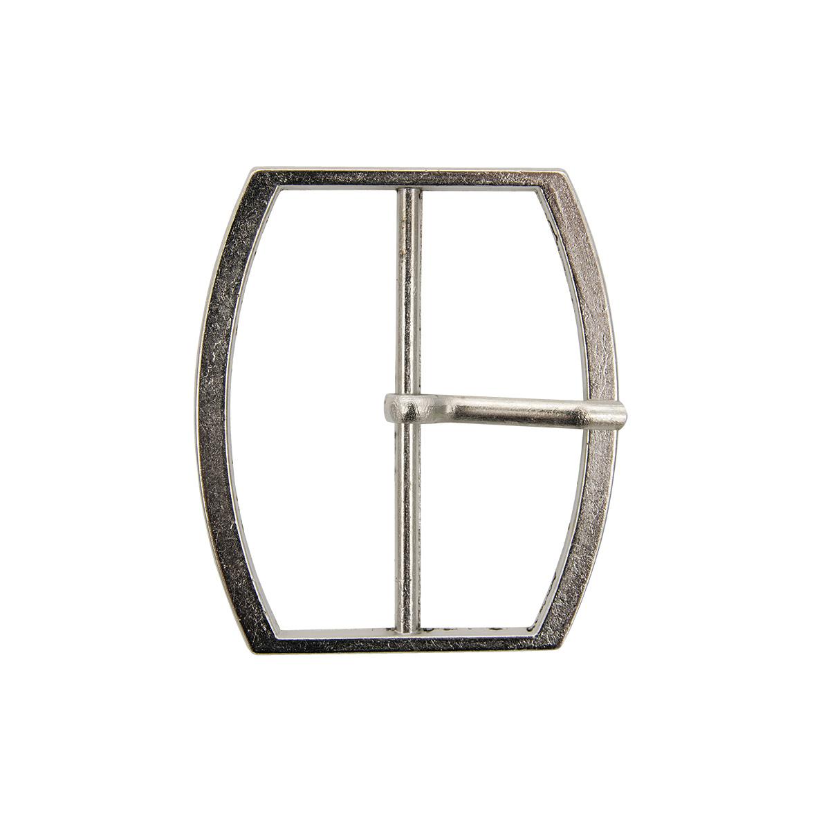 0321-8014 Пряжка, 50 мм, никель, Hobby&Pro