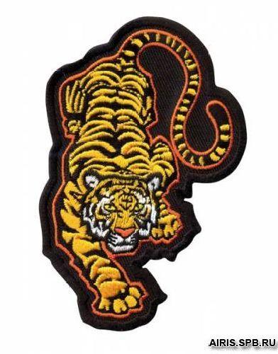 AD1324 Термоаппликация 'Тигр', 10,2*6,4 см, Hobby&Pro