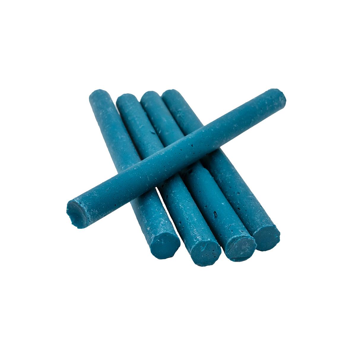 Сургуч в стержнях синий для клеевого пистолета, 5шт/упак Астра