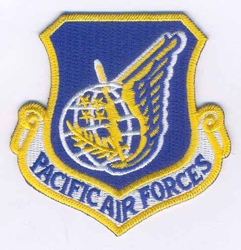 Термоаппликация AD1355 PACIFIC AIR FORCES синий Hobby&Pro