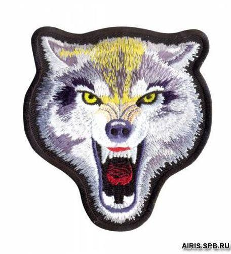 Термоаппликация AD1327 Волк Hobby&Pro