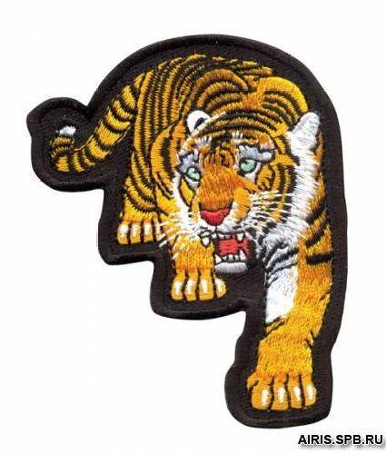 Термоаппликация AD1323 Тигр Hobby&Pro