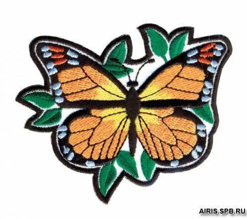 Термоаппликация AD1318 Бабочка Hobby&Pro