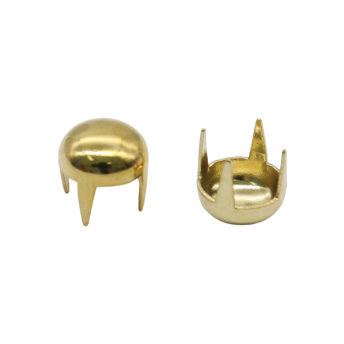 50843 Украшение д-6мм золот. с шипами ГР