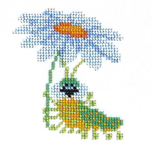 Б-0065 Набор для вышивания бисером 'Бисеринка' 'Романтика', 9*11 см