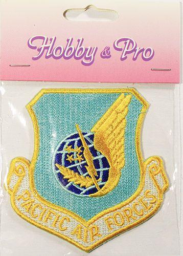 AD1353 Термоаппликация Pacific air forces, 7,7*7,7 см, Hobby&Pro