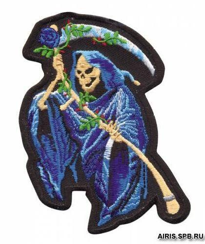 AD1336 Термоаппликация 'Дама в голубом', 10,2*7,6 см, Hobby&Pro