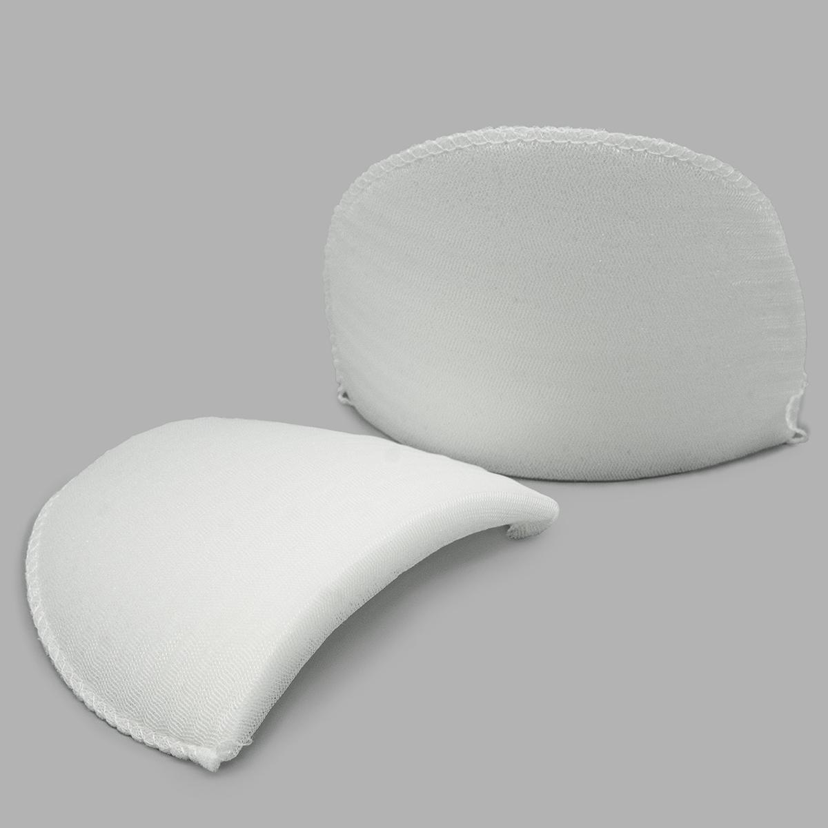 Плечевые накладки В-12/А втачные обшитые цвет белый, 12х100х150 мм, Hobby&Pro