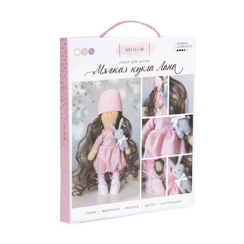 3548663 Интерьерная кукла 'Лана', набор для шитья, 18*22.5*3 см