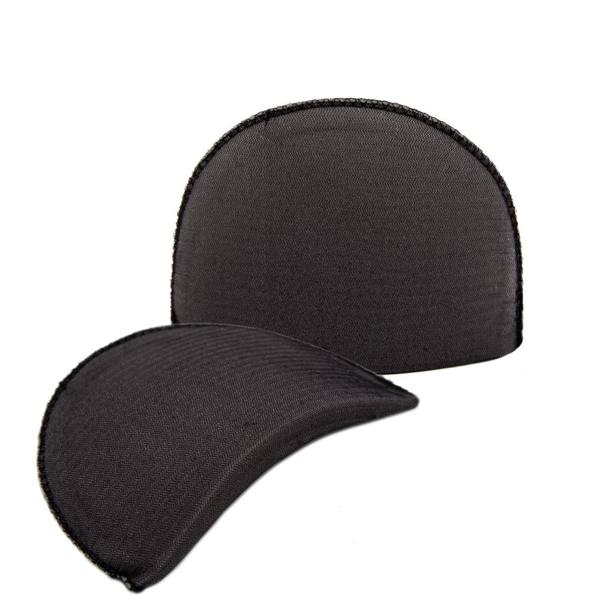 Плечевые накладки В-12/А втачные обшитые цвет черный, 12х100х150 мм, Hobby&Pro