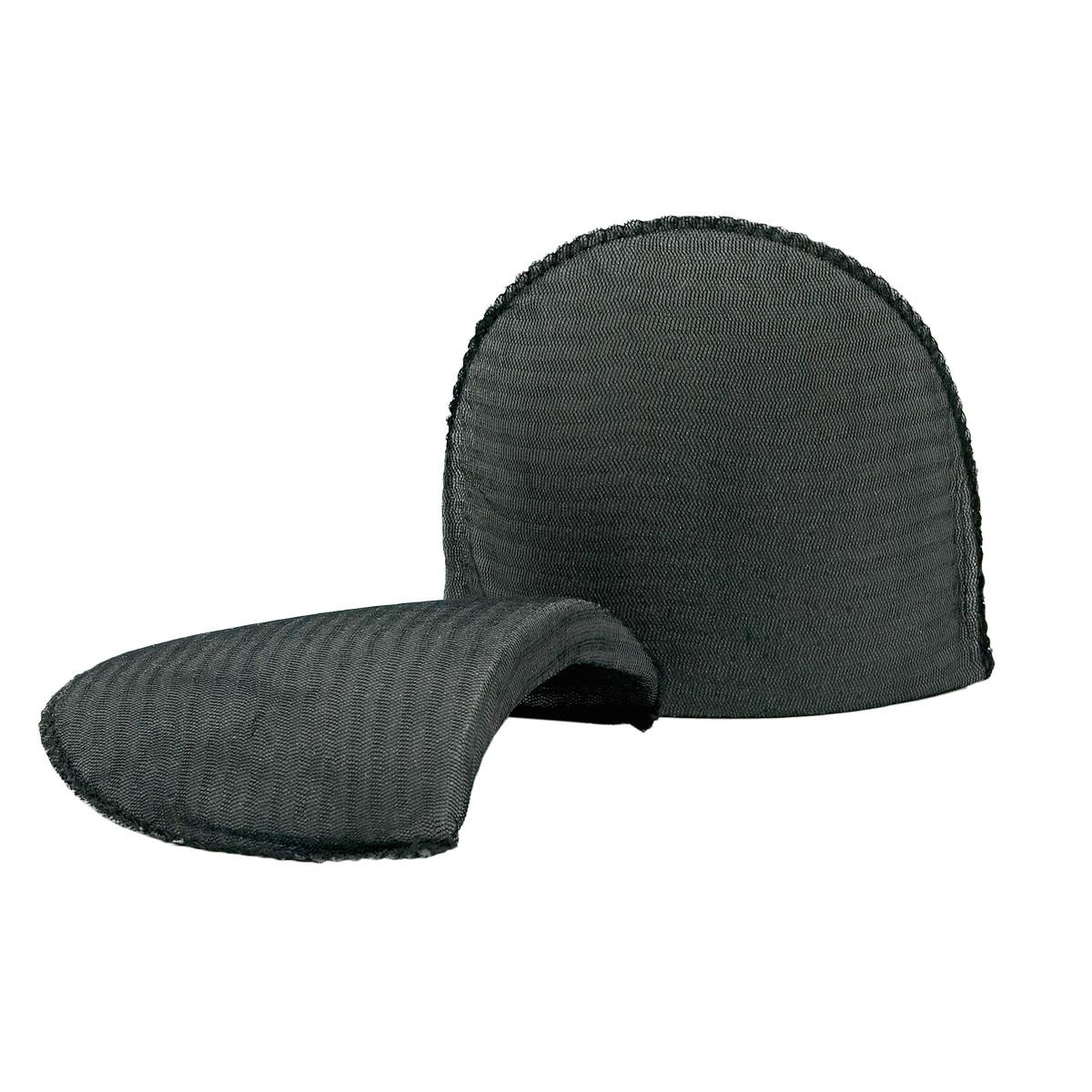 Плечевые накладки В-16/А втачные обшитые цвет черный, 16х120х165 мм, Hobby&Pro