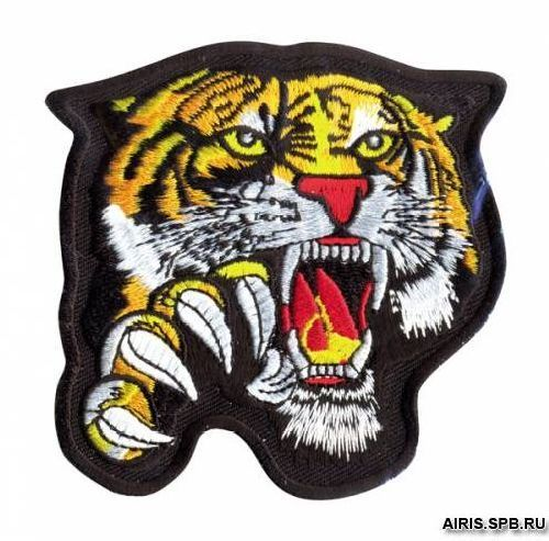 Термоаппликация AD1320 Тигр Hobby&Pro