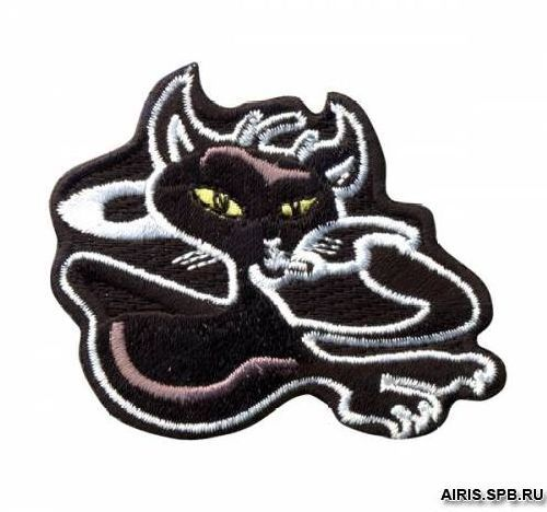 AD1367 Термоаппликация 'Кошка лежащая', 5*6 см, Hobby&Pro