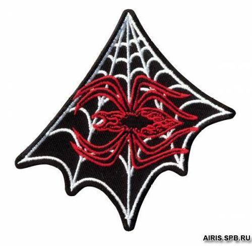 AD1340 Термоаппликация 'Паук на паутине', 8,9*8,9 см, Hobby&Pro