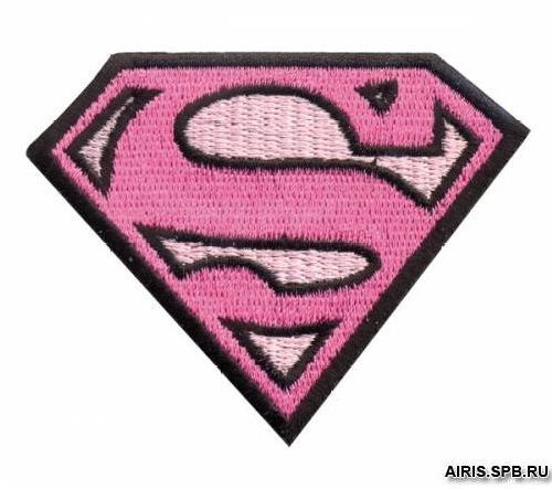AD1338 Термоаппликация Supergirl, 6*7,5 см, Hobby&Pro