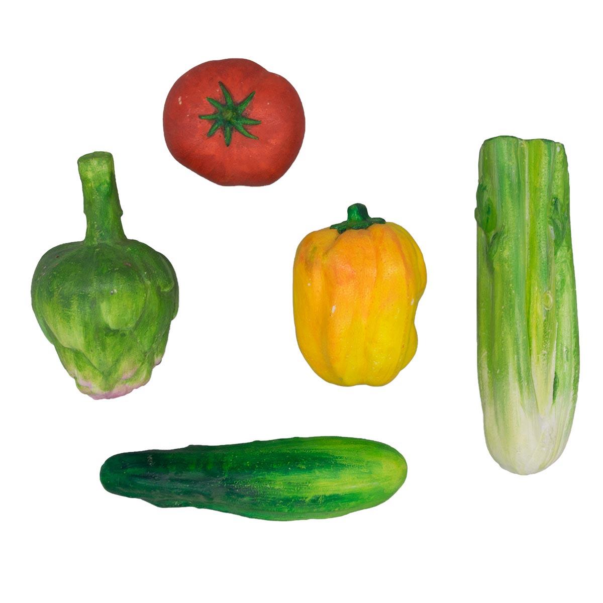 Набор для раскрашивания пенопластовых заготовок 'Овощной микс' №2