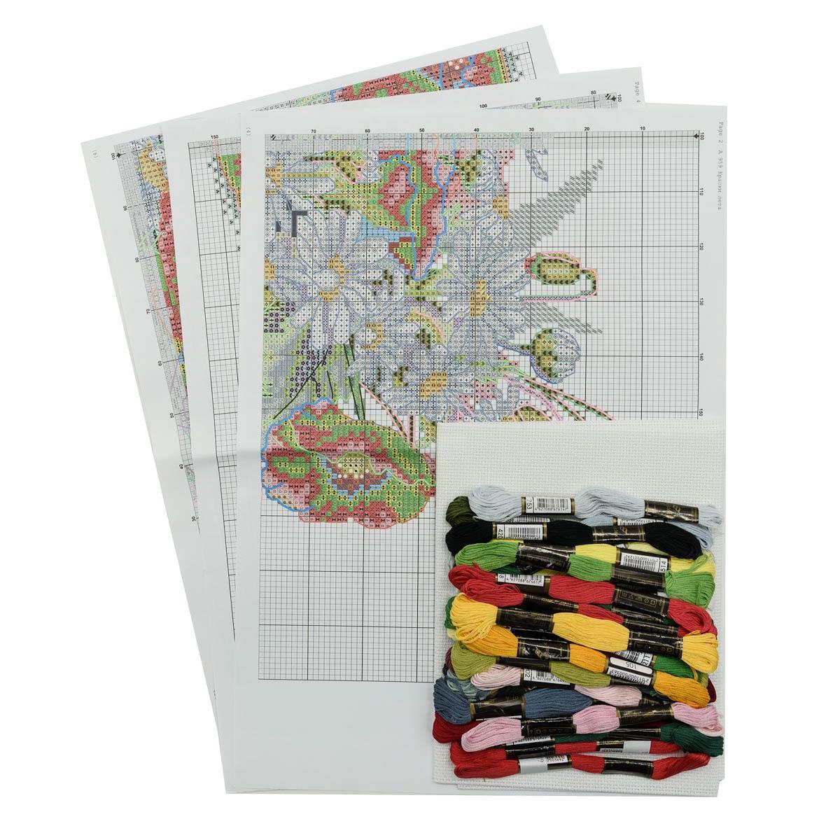 Набор для вышивания'Краски лета' 39*30см, 959, Hobby&Pro