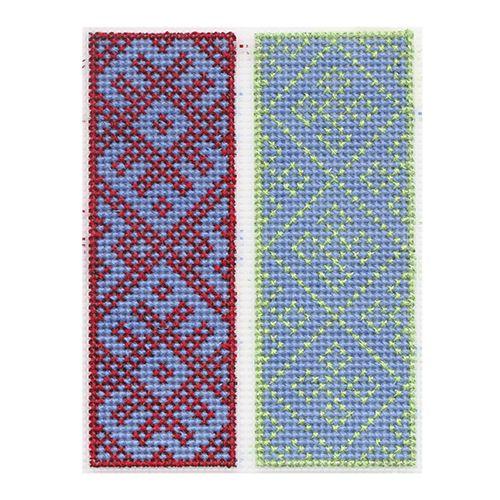 """Набор для вышивания на пластиковой канве П-0029 """"Вологодские узоры"""", 10,4х14,6 см, Hobby&Pro"""