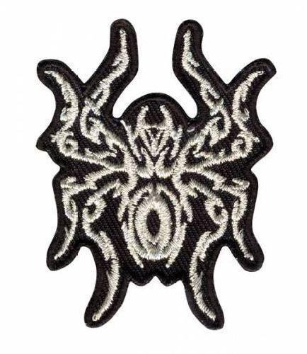 AD1369 Термоаппликация 'Паучок серебрянный', 5,5*4,2 см Hobby&Pro