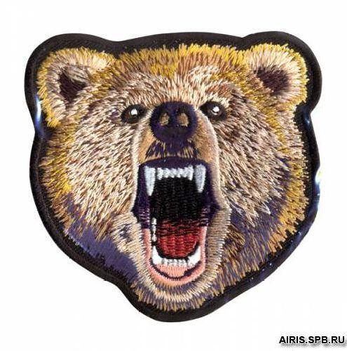 Термоаппликация AD1341 Медведь Hobby&Pro