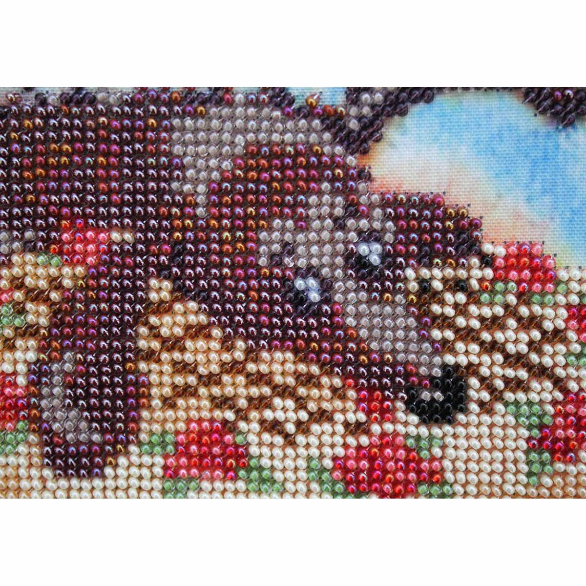 """Набор для вышивания бисером БН-3142 """"Сладкоежка"""", 30х22 см, Hobby&Pro"""
