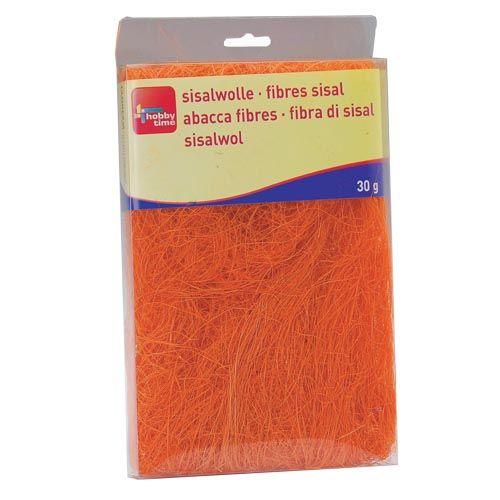 63807004 Сизаль, 30г, оранжевый Glorex