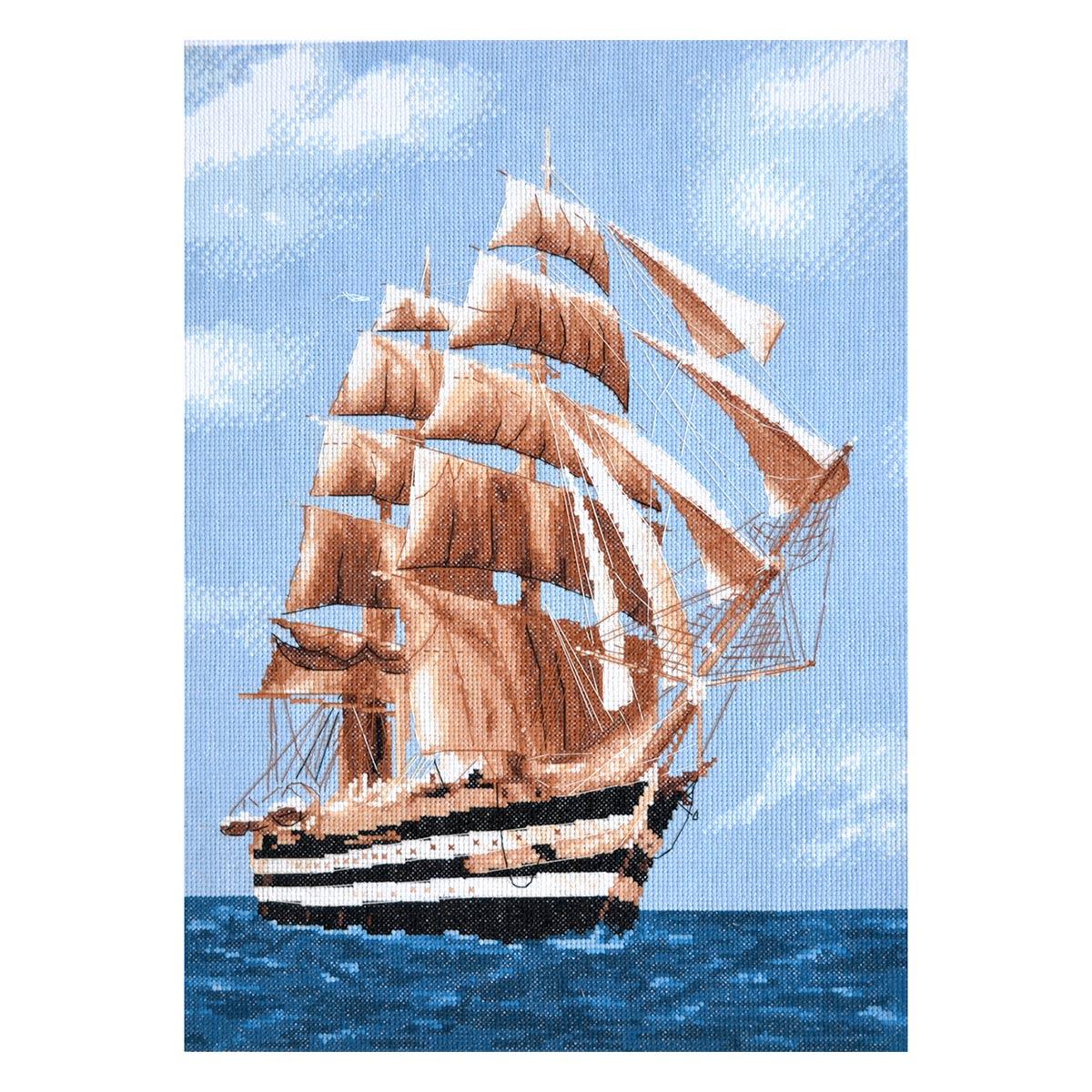 Набор для вышивания'Морское путешествие' 28*39см, 965, Hobby&Pro