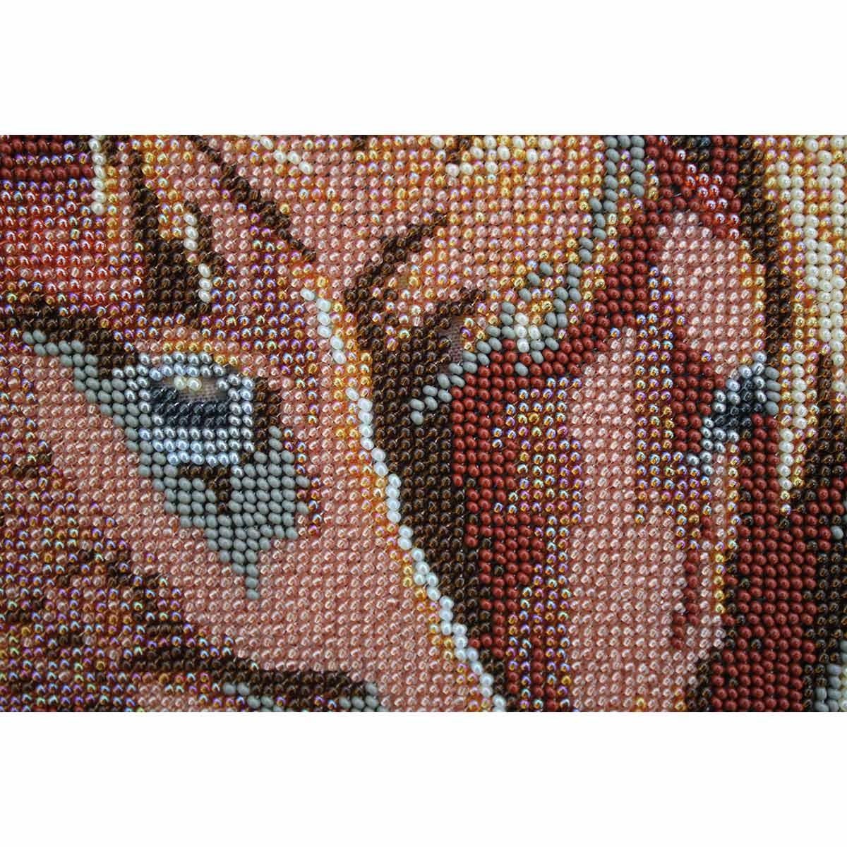 """Набор для вышивания бисером БН-3139 """"Лошадки"""", 40х25 см, Hobby&Pro"""