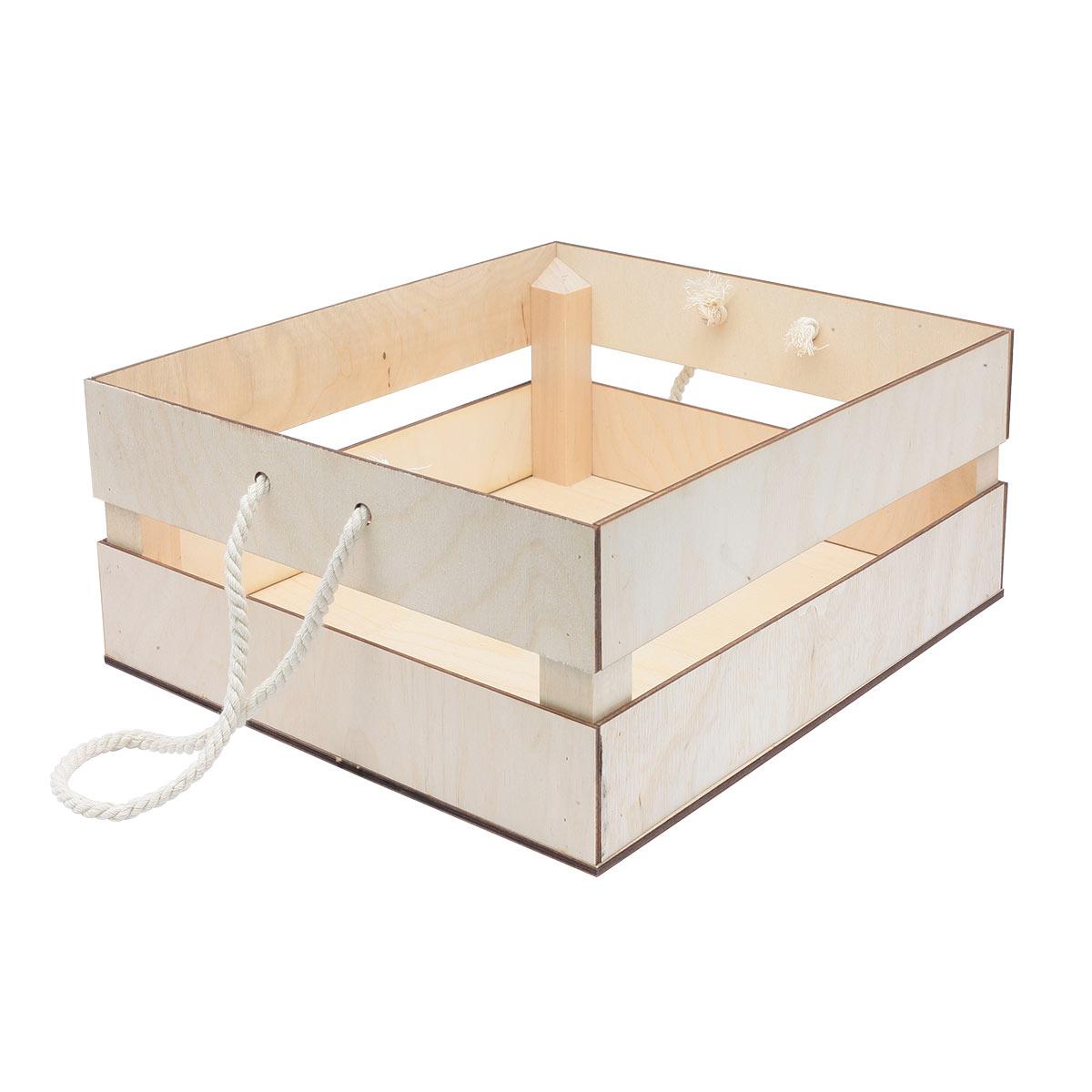 НА-025 Набор для оформления подарка 'Фруктовый', ящик 25*30 см, белый