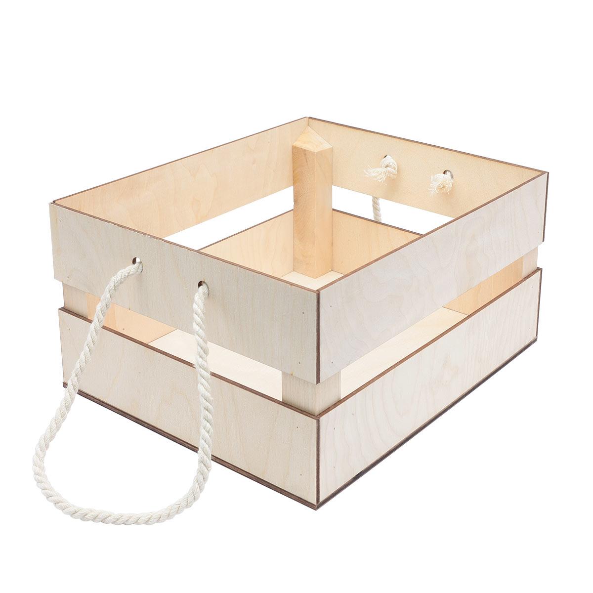 НА-026 Набор для оформления подарка 'Фруктовый', ящик 25*20 см, белый