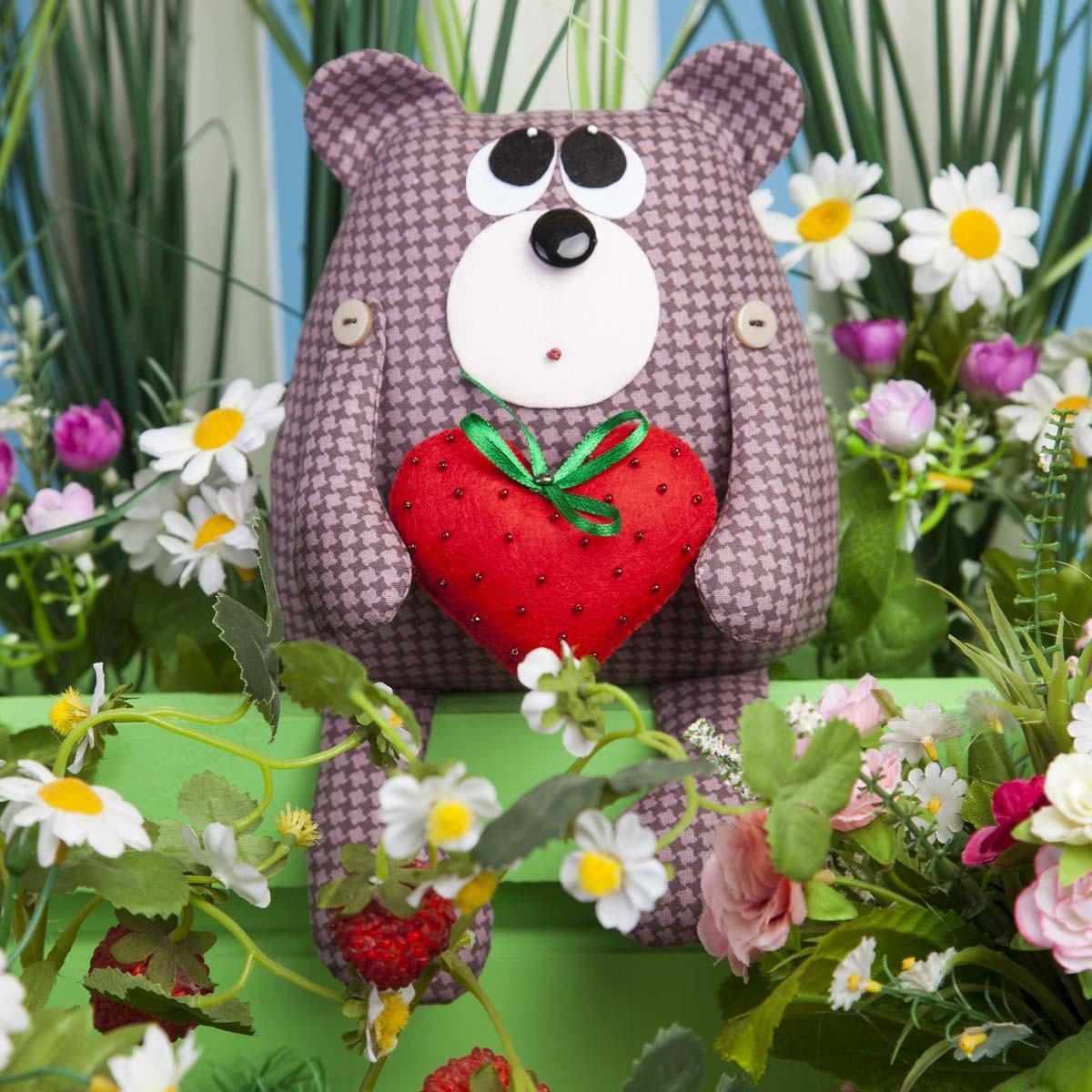 ТК-005 Набор для шитья мягкой игрушки 'Медвежонок Проша'