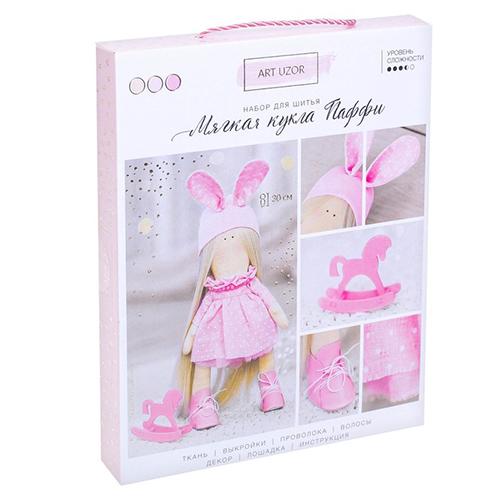 3299327 Интерьерная кукла «Паффи», набор для шитья, 18,9*22,5*2,5 см