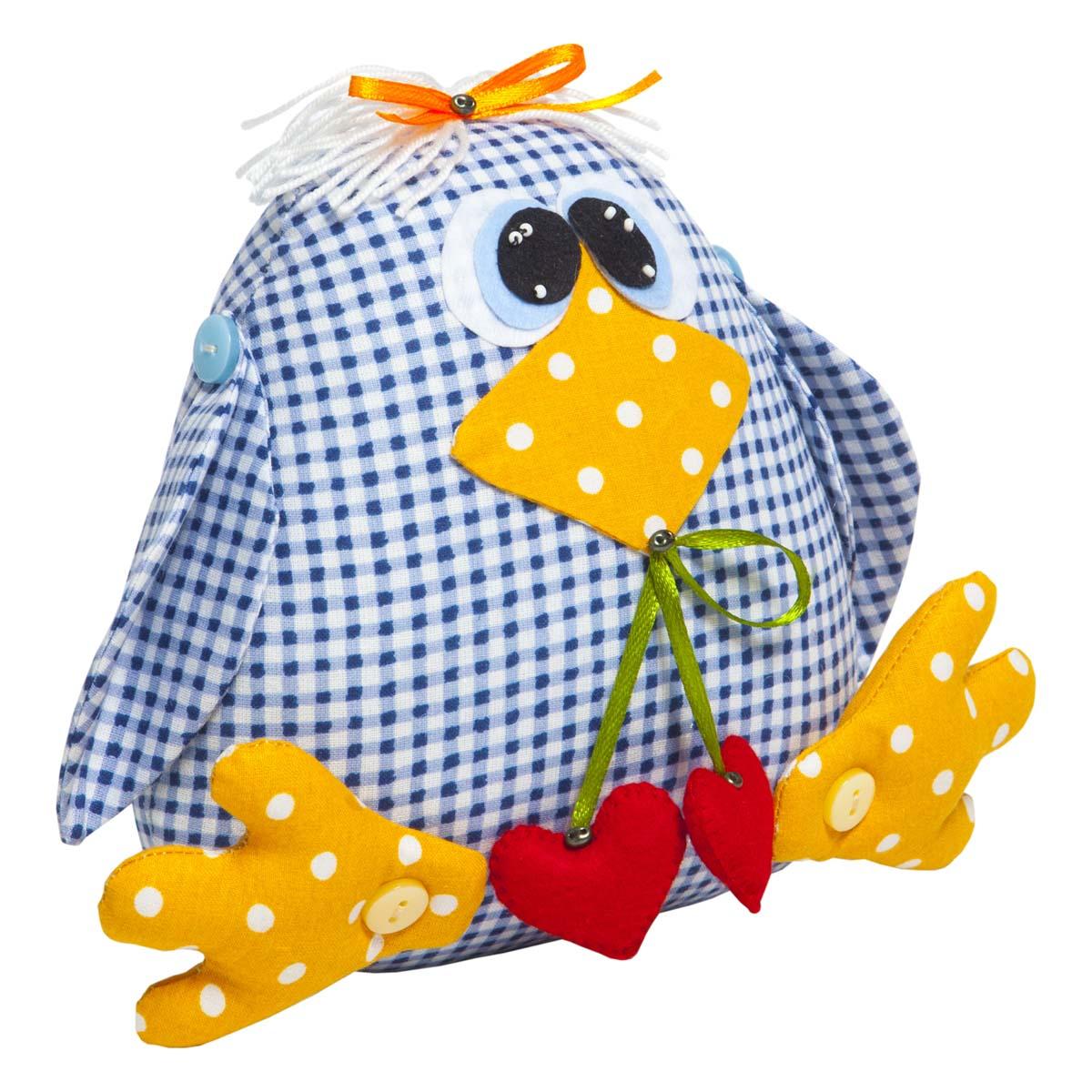 ТК-001 Набор для шитья мягкой игрушки 'Птичка Кроша'