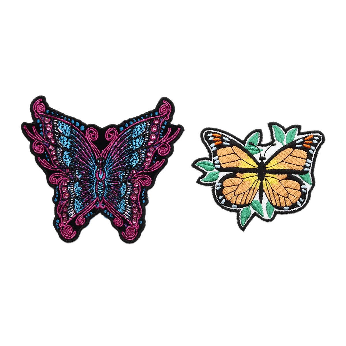 Набор термоаппликаций Бабочки,упак(2шт), Hobby&Pro