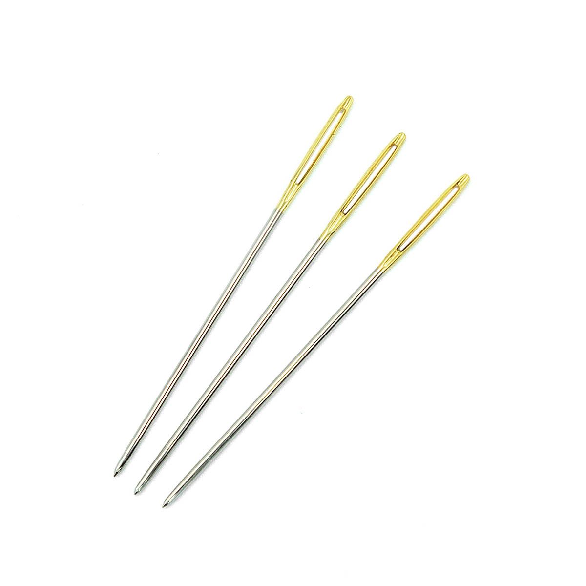 Иглы ручные с золотым ушком для гобеленов №20, 6шт. 110202/g, Hobby&Pro