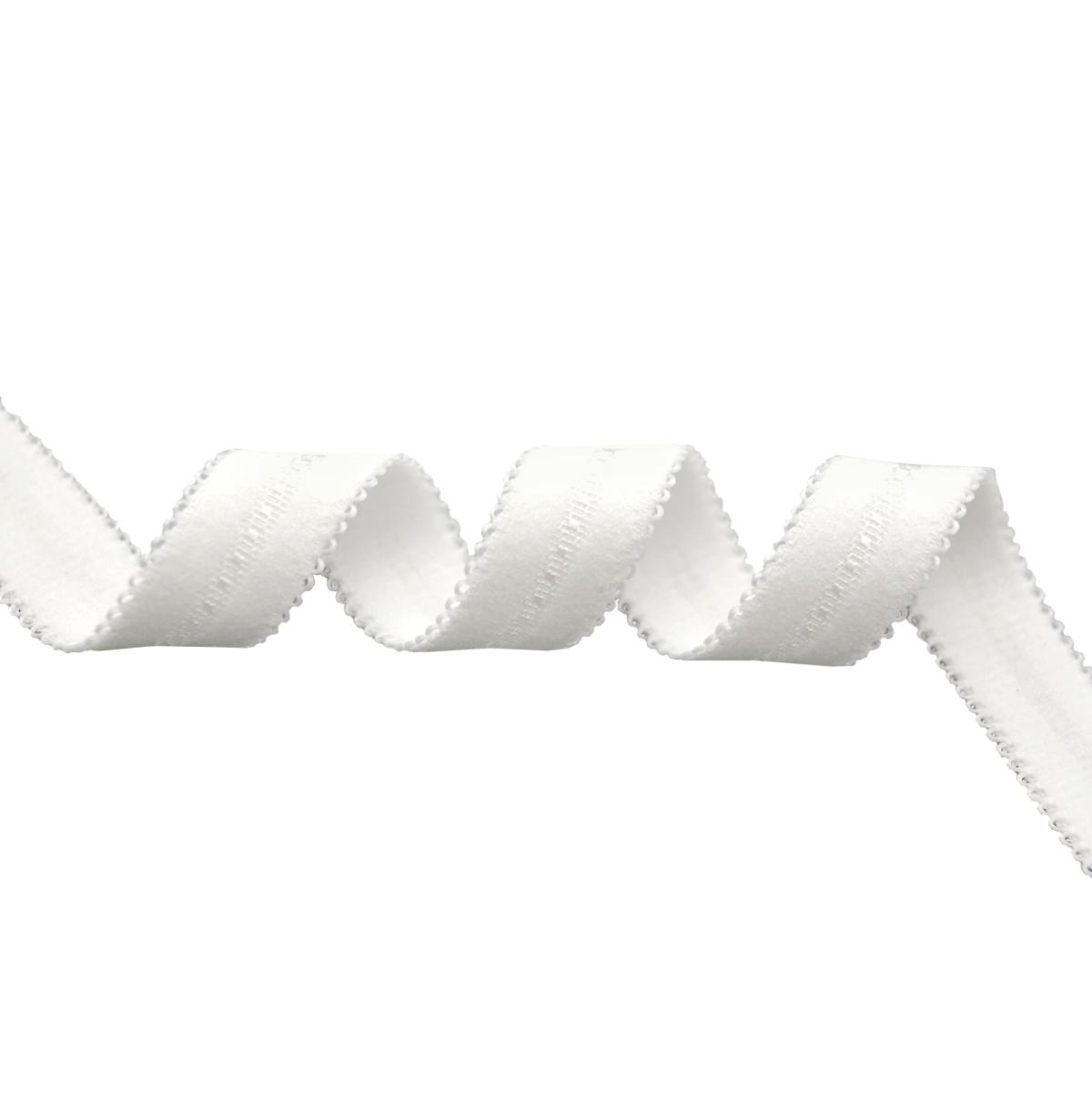 ST/25 эластичная бретелечная лента 14мм*25м, белый