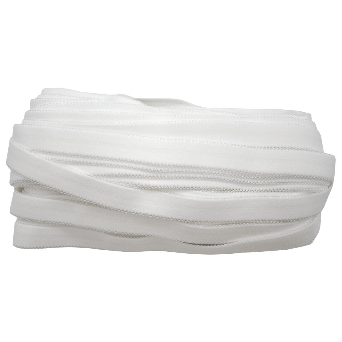 ST/26 эластичная бретелечная лента 18мм*25м, белый
