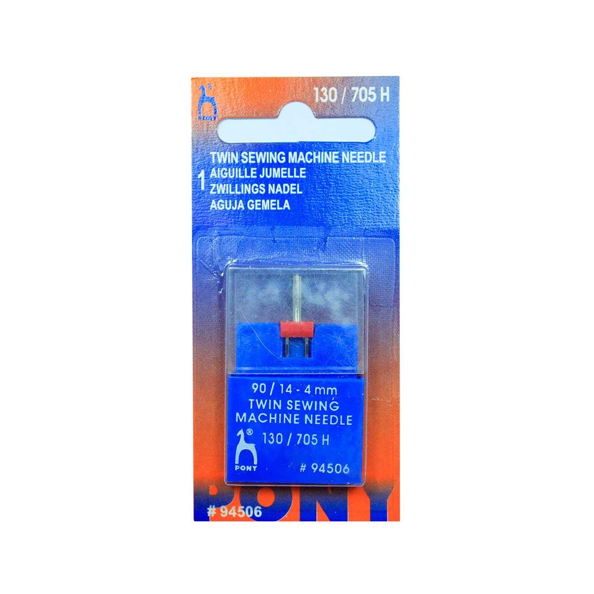 94506 Игла машинная двойная № 90, 4,00 мм, 1 шт PONY