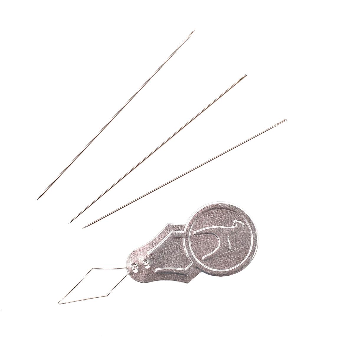 07305(07805) Иглы для бисера №10, упак./6 шт., PONY
