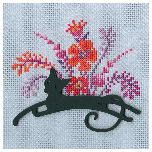 СВЕ9007 Набор для вышивания РТО 'Кошка'11,5*8см