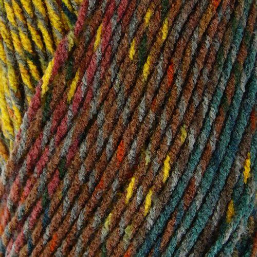 Пряжа  ALIZE Show punto batik design 170м./103,586г. Акрил 100%