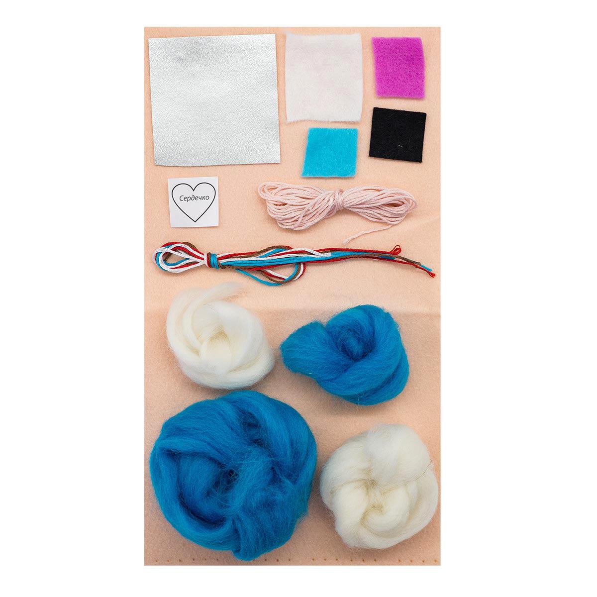 ПФД-1071 Набор для создания игрушки из фетра серия 'Детки' ЕДИНОРОГ