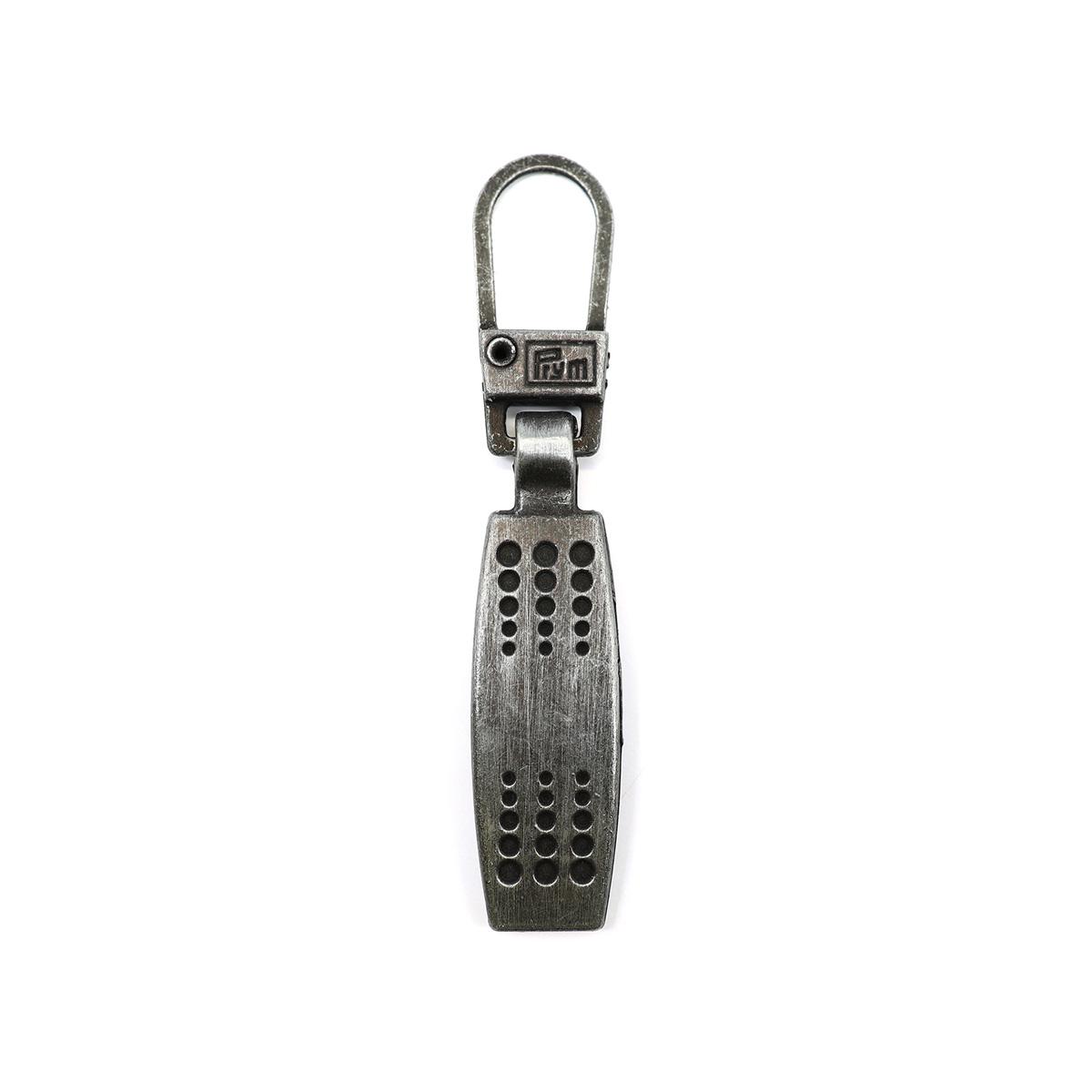 482131 Подвеска для молний (матрица), металл, черный, Prym