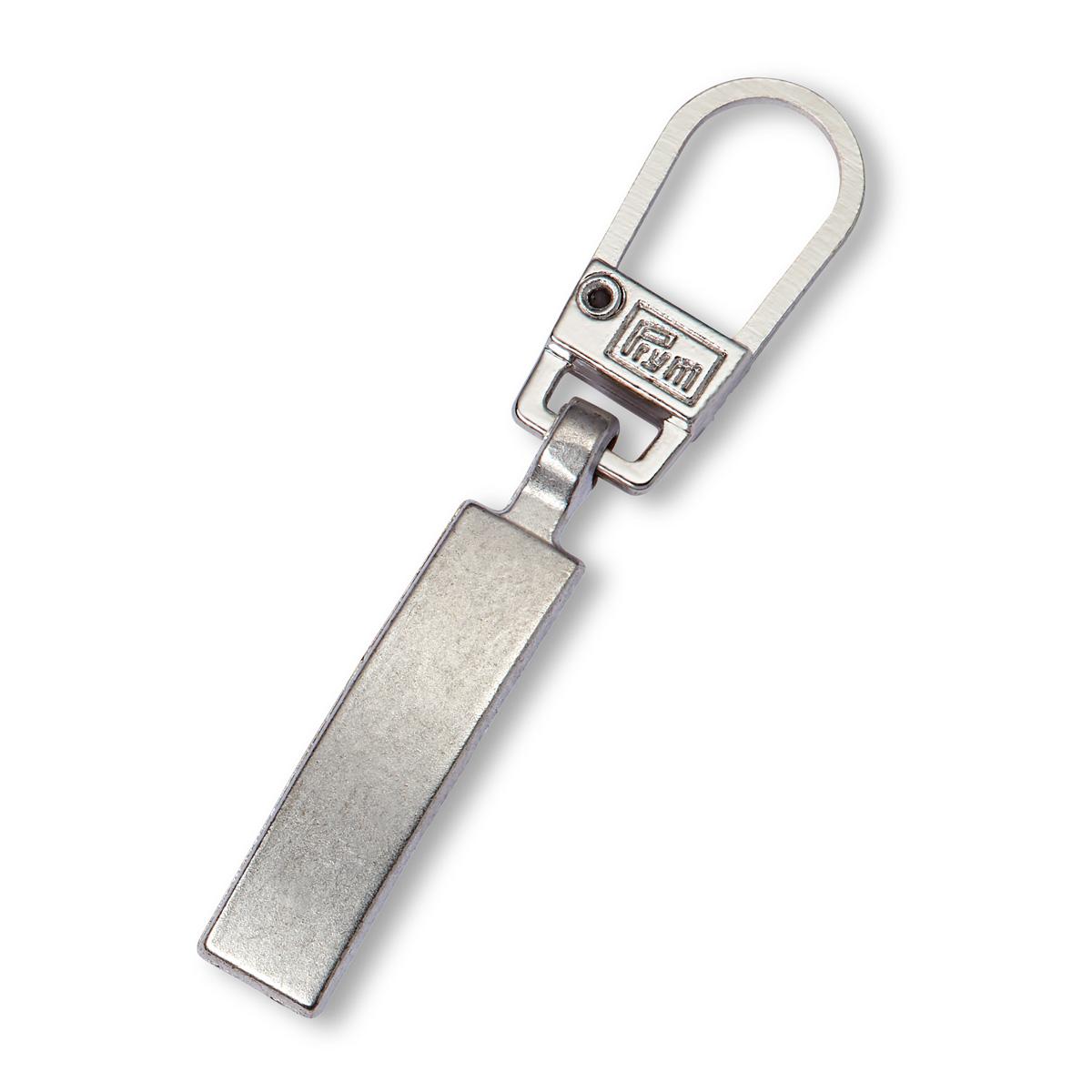 482132 Подвеска для молний (классика), металл, матовый серебристый, Prym