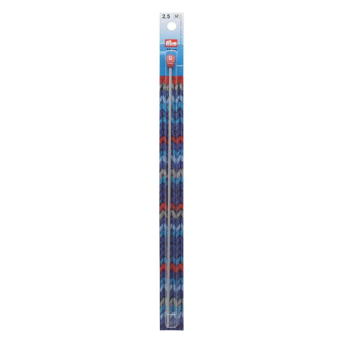 195214 Крючок для вязания тунисский, 2,5 мм*30 см, Prym