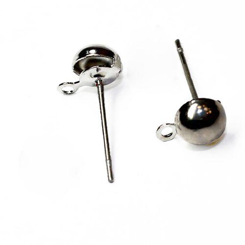 Основа для серег 'Гвоздик', 0,7*13,5*5 мм, упак./20 шт., 'Астра'
