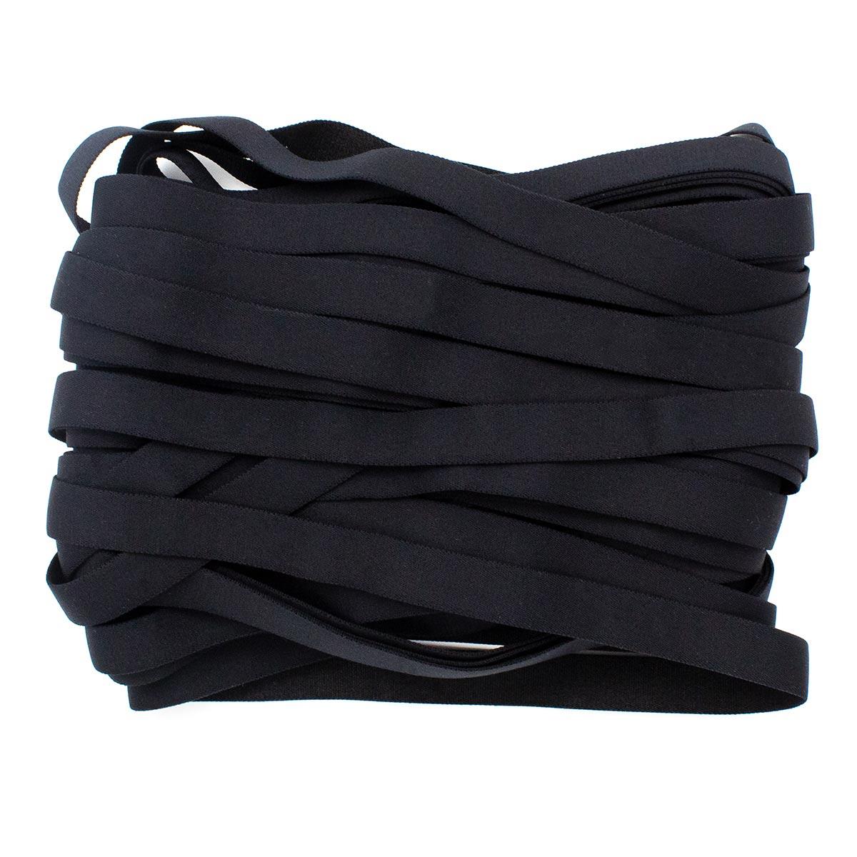 STB/18 эластичная бретелечная лента 14мм*25м, черный