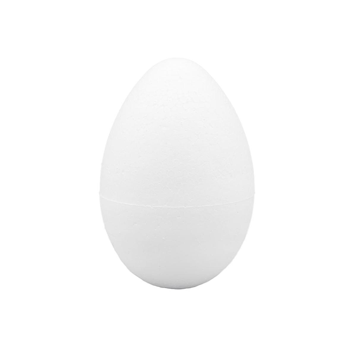 """Заготовка для декорирования из пенопласта """"Яйцо"""" h 60хd 40мм."""