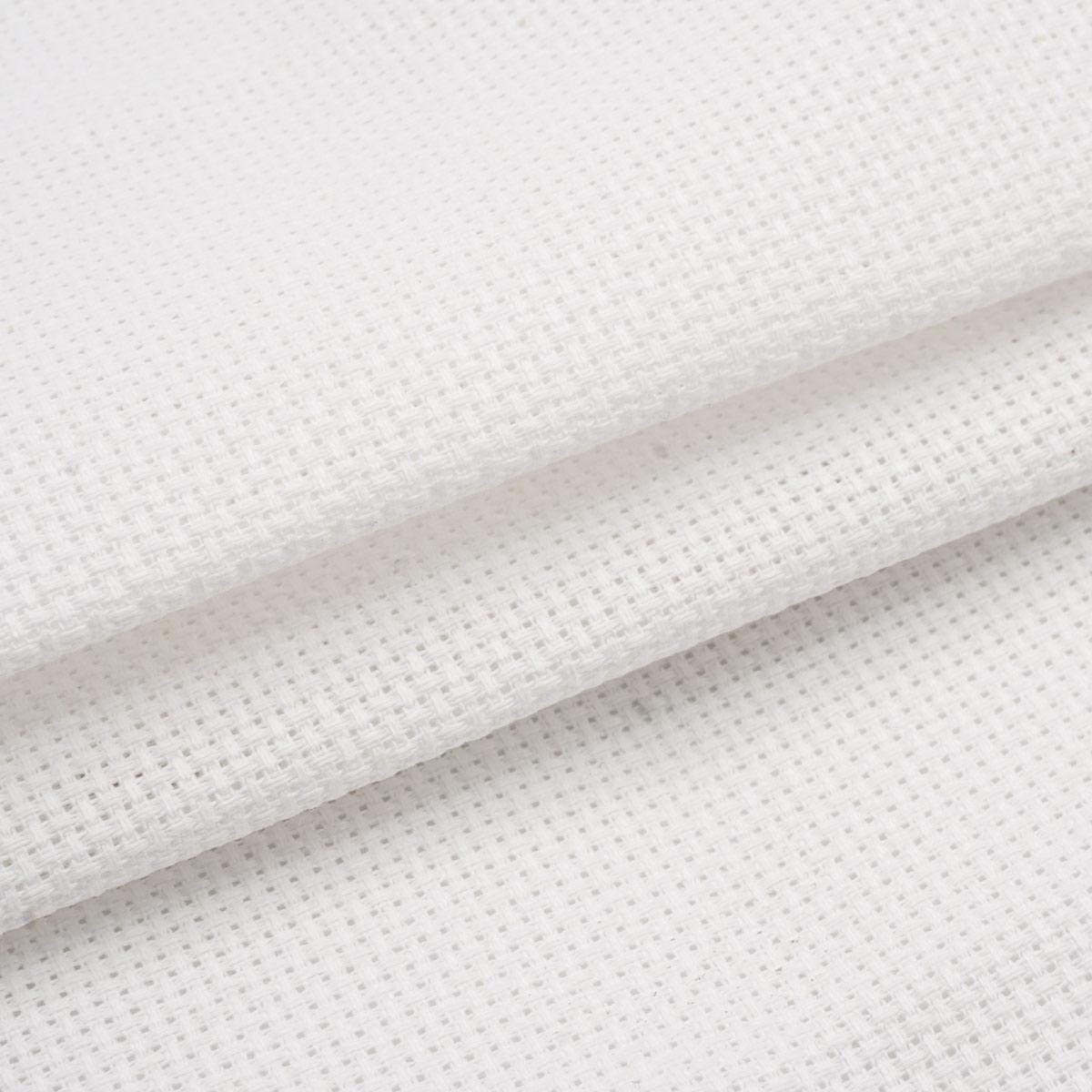 Канва 624010-18C/T 50*50см белая Bestex