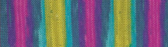 """Пряжа  ALIZE """"Superwash 100"""" 420м./100г. многоцветный шерсть 75%; полиамид 25%"""